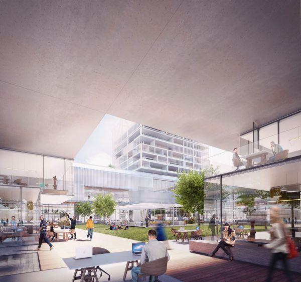 Gli spazi di coworking del Parco della Scienza, del Sapere e dell'Innovazione di Milano