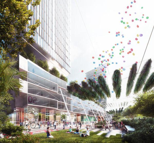 il Parco della Scienza avrà moltissime aree verdi e un orto urbano