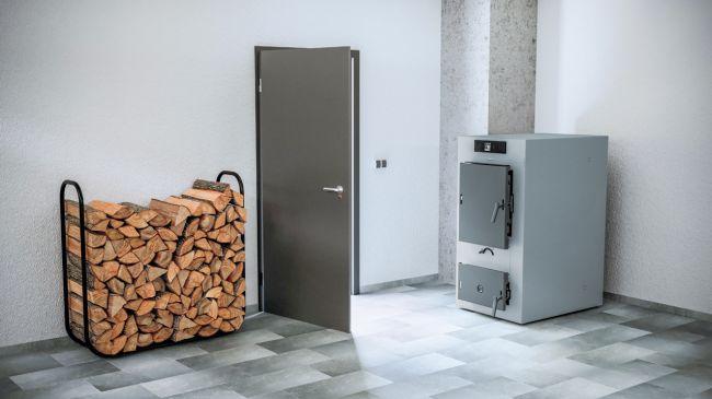 Vitoligno 100-S è una caldaia a ciocchi di legna di Viessmann
