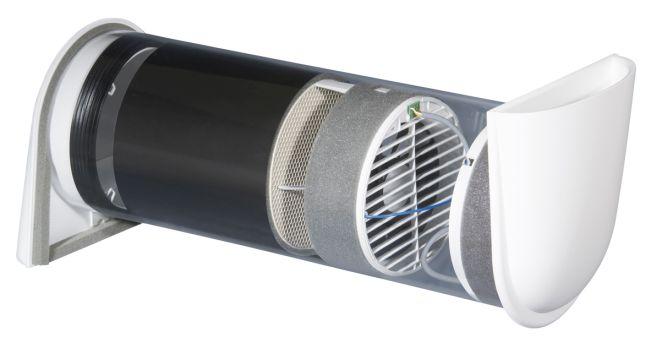 Vitovent 100-D di Viessmann è la nuova un'unità di ventilazione decentralizzata per il ricambio d'aria