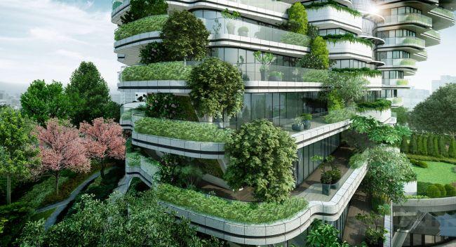Un futuristico grattacielo in grado di ridurre lo smog - Imbianchino ...