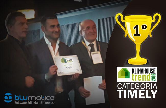 Il software Blumatica EGE vince il Klimahouse Trend 2018