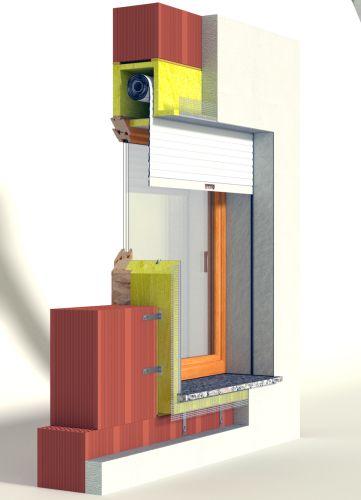 Soluzione monoblocco per il foro finestra RoverBlok di Roverplastik