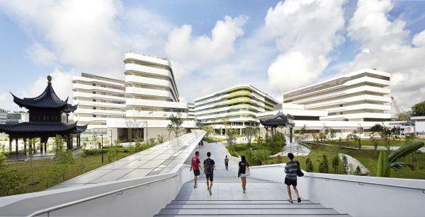 Singapore University of Technology and Design: il campus universitario eco-sostenibile
