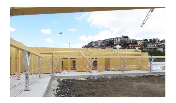 Cantiere progetto WonderLAD a Cartania