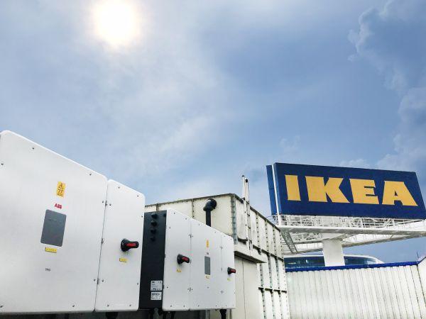 Inverter ABB per il tetto fotovoltaico dell'Ikea di Singapore