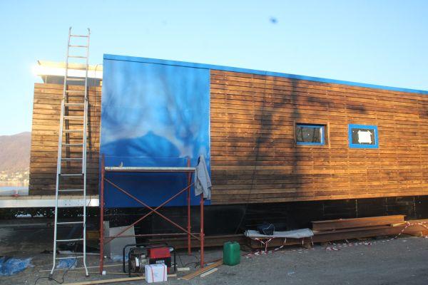 Botel 2.0 albergo realizzato su piattaforme galleggianti