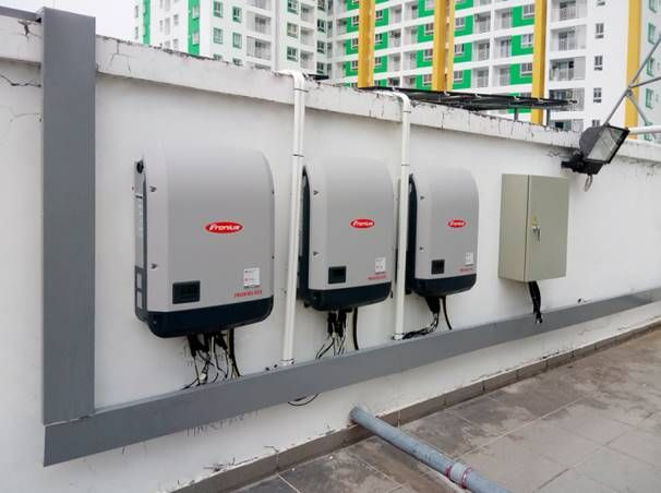 3 Inverter Fronius Eco per un impianto fotovoltaico di grandi dimensioni in Vietnam