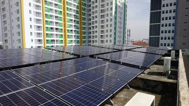 Impianto fotovoltaico con inverter Fronius a Ho Chi Minh