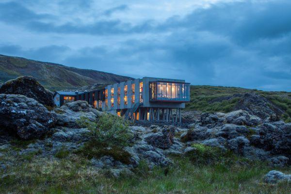ION Luxury Adventure Hotel per vedere l'aurora boreale in Islanda