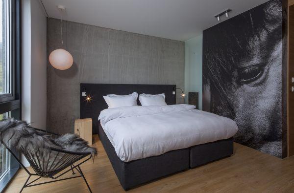 Un esempio delle suite dell'ION Hotel.