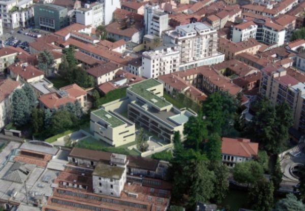 Rendering provetto di via Roma a Gallarate firmato da Alvaro Siza Architetto