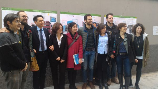 I partner del progetto europeo Sharing Cities all'inaugurazione del Condominio riqualificato di via Tito Livio a Milano