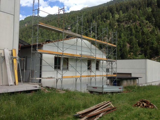 Realizzati da Vario Haus in un solo giorno i lavori di sopraelevazione dell'Immobiliare svizzera Eldag AG