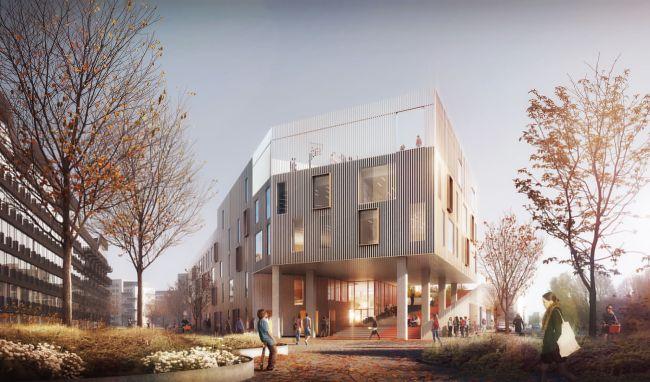 Una scuola green: la New Island Brygge School a Copenhagen