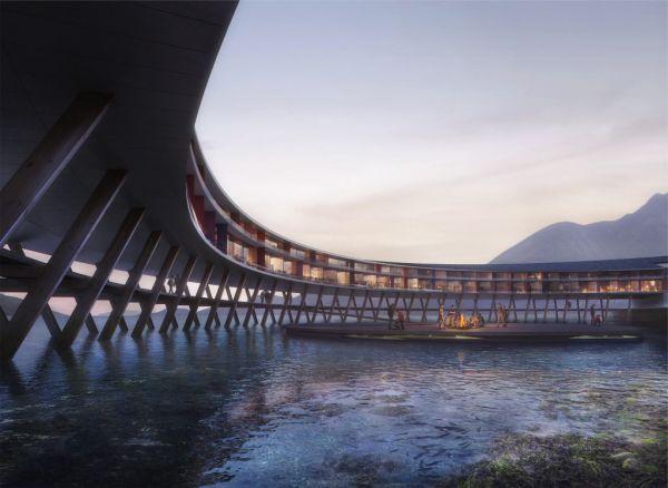 Svart: Un hotel green tra i fiordi norvegesi