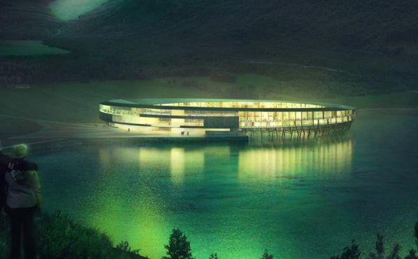 L'hotel Svart è stato progettato per impattare il meno possibile sull'ambiente