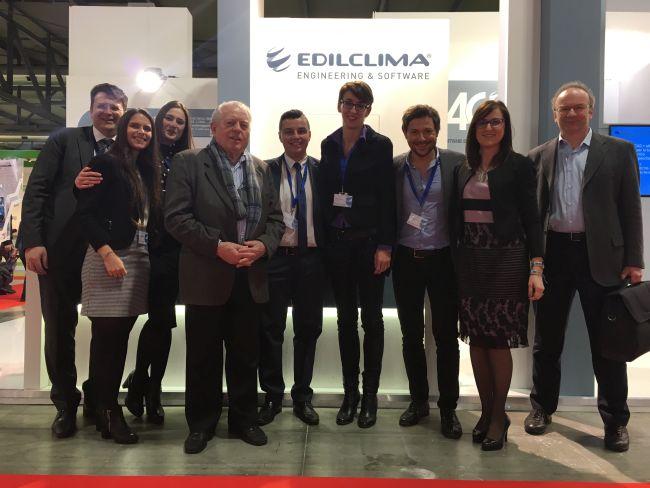 Staff Edilclima a MCE 2018