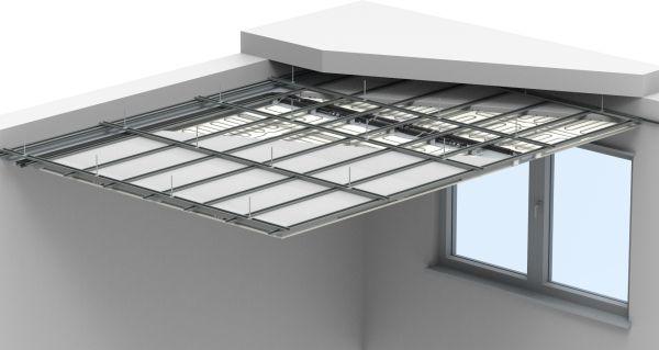 Sistema di riscaldamento e raffrescamento a soffitto LOEX BLIFE