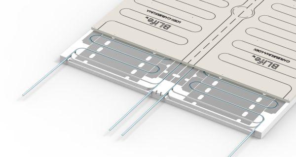 Sezione pannello radiante LOEX BLife