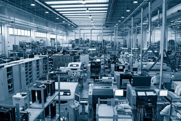 Area produzione Astrel Group