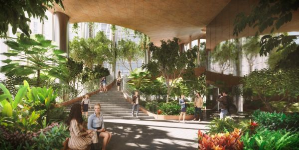 Il grattacielo verde di Singapore firmato BIG e Carlo Ratti