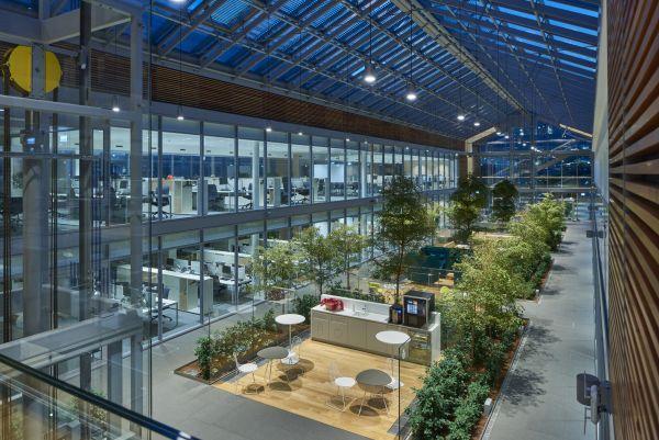 Le serre che caratterizzano nuovo Headquarters di Prysmian Group