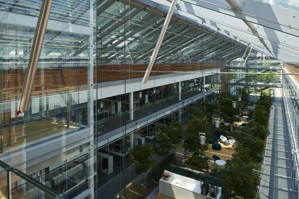 Gli interni del Nuovo headquarters Prysmian Group