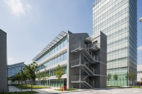 Esterno Nuovo headquarters Prysmian Group