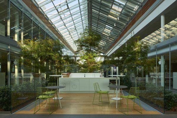 Le serre bioclimatiche del nuovo headquarters di Prysmian Group