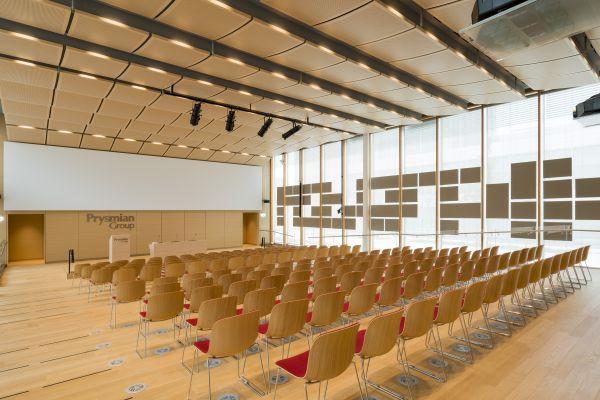 Auditorium Nuovo headquarters Prysmian Group