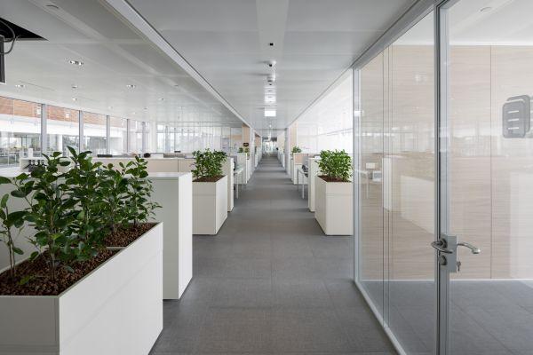 Uffici del nuovo headquarter Prysmian di Milano