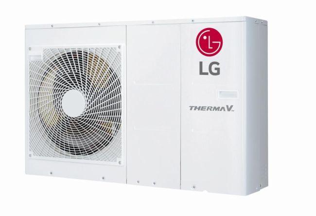 Pompa di calore aria-acqua Therma V di LG