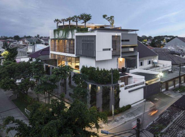 La casa green che mantiene fresca la temperatura interna - Casa esposta a ovest ...