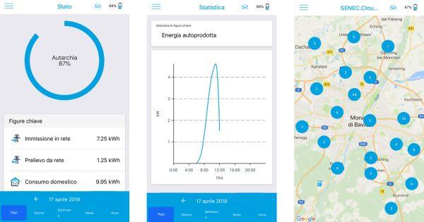 Disponibile la versione aggiornata dell'App Senec
