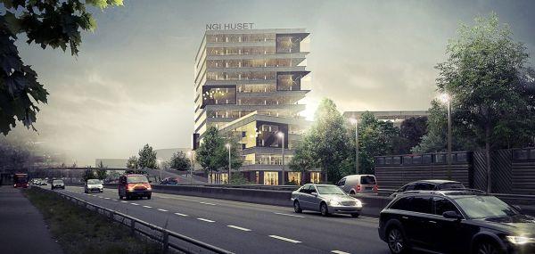 Nuova sede ecosostenibile del Norwegian Geotechnical Institute