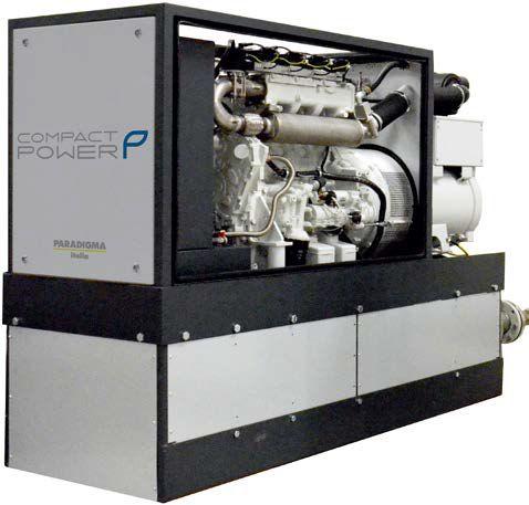 CompactPower gamma prodotti plug&play Paradigma per la cogenerazione