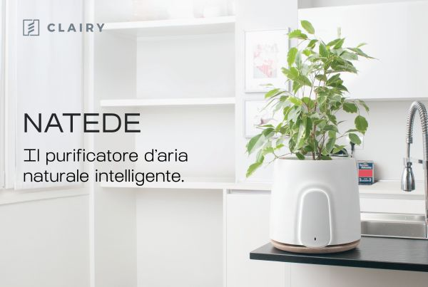 Natede il purificatore d'aria intelligente Made in Italy