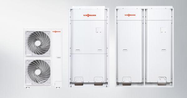 Nuovi sistemi di climatizzazione VRF di Vitoclima 333-S di Viessmann