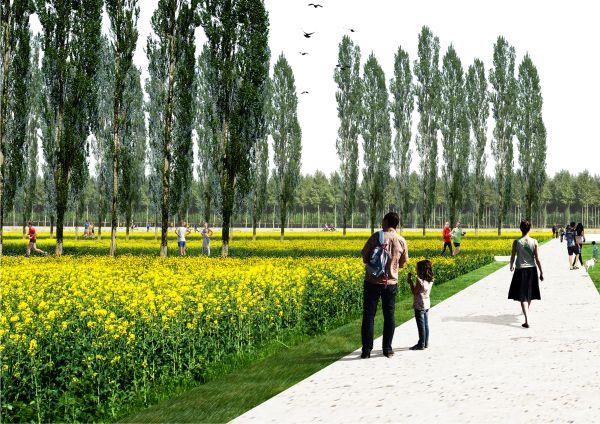 Il grande parco urbano che sorgerà nella zona ovest di Milano