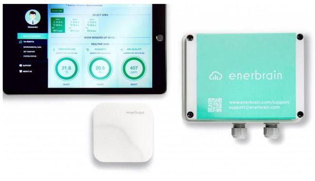 Enerbrain: sensore, attuatore e interfaccia di sistema