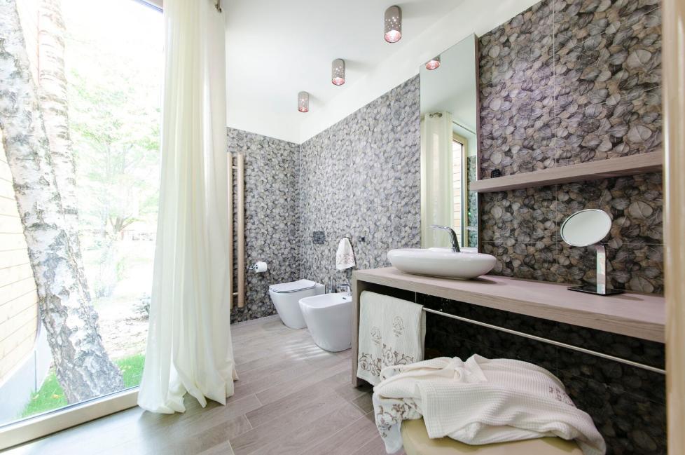 Area bagno del modulo abitativo green_zero