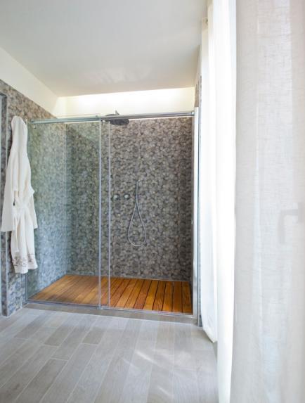 Il bagno del modulo eco-chic Green-zero