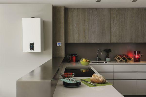 Installazione in interno  o esterno per la caldaia a condensazione Mira Advance Link