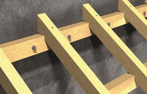 Pergolato in legno. Soluzioni Berner per il fissaggio ad hoc