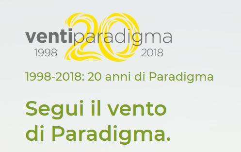 Paradigma festeggia 20 anni di attività