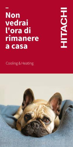 Climatizzatori Hitachi ad alta efficienza e massimo comfort