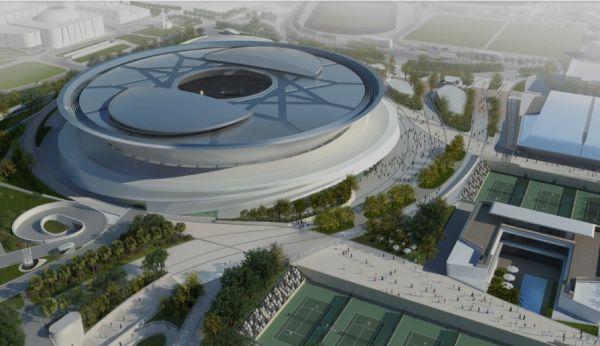 Khalifa Tennis Complex di Doha