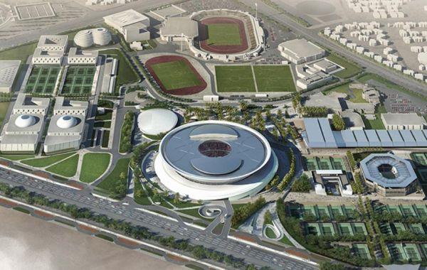 Masterplan Khalifa Tennis Complex di Doha
