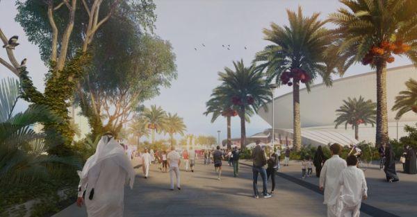 Il Khalifa Tennis Complex di Doha diventerà un punto di incontro e aggregazione